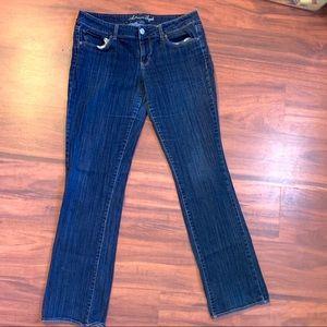 AE Straight Leg Stretch Jeans